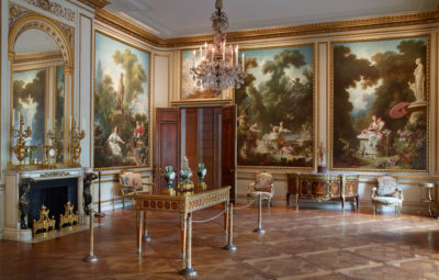Fragonard Room. Photo courtesy of The Frick Collection.